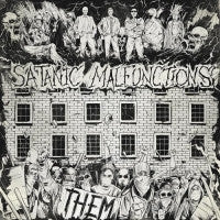 Satanic Malfunctions- Them CD on Selfmadegod