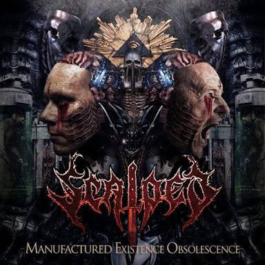 Scalped- Manufactured Existence Obsolescence CD on Songs For Satan