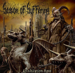 Season Of Suffering- Annihilation Race DIGI-CD