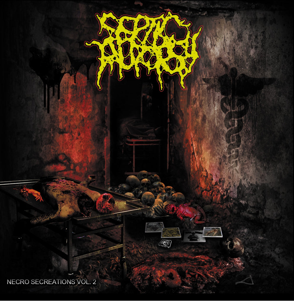 Septic Autopsy- Necro Secreations Vol. 2 CD on Bizarre Leprous Prod.