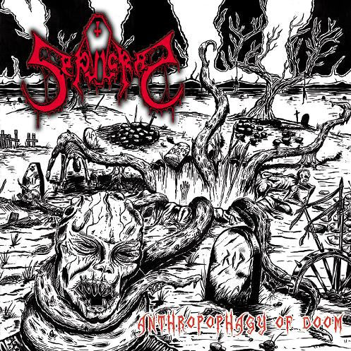 Sepulcral- Anthropophagy Of Doom CD on Razorback Records