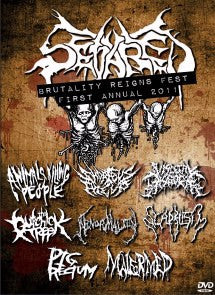 SEVARED RECORDS- 1st Annual Brutality Reigns Festival DVD
