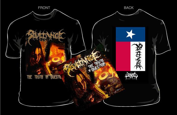 SEVERANCE- The Truth.. CD / T-SHIRT PACKAGE X-LARGE