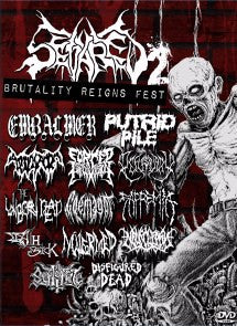 SEVARED RECORDS- Brutality Reigns Fest #2 DVD