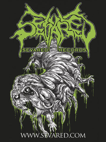 SEVARED RECORDS- Goreworm STICKER