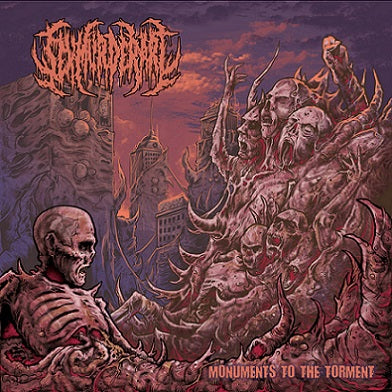 Sex Murder Art- Monuments To The Torment CD on Rotten Music