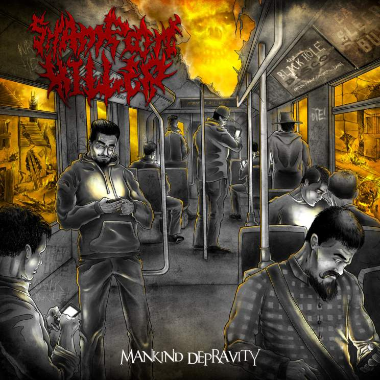 Shampoon Killer- Mankind Depravity CD on Bizarre Leprous Prod.