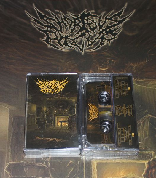 SHORT BUS PILE UP- Repulsive Display Of Human Upholstery CASSETTE on Dissonant Tapes