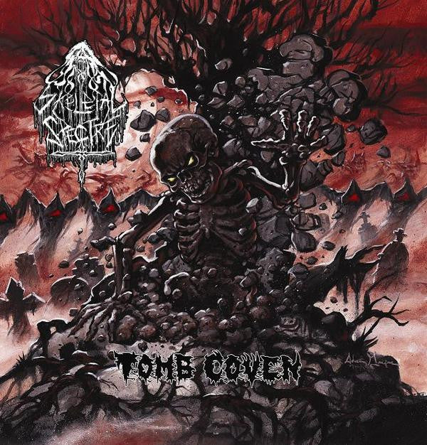 Skeletal Spectre- Tomb Coven CD on Razorback Rec.