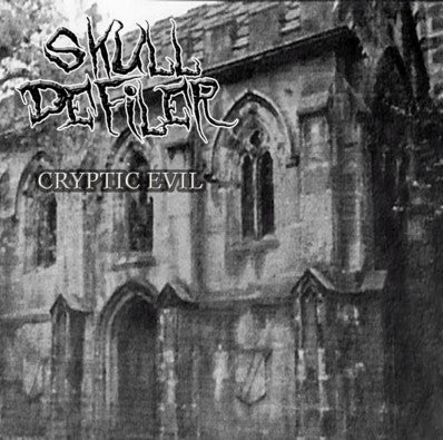 SKULL DEFILER- Cryptic Evil CD on Going Postal Rec.