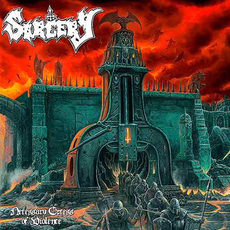 Sorcery- Necessary Excess Of Violence CD on Xtreem Music