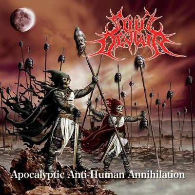Soul Devour- Apocalyptic Anti Human Annihilation CD on Infernal