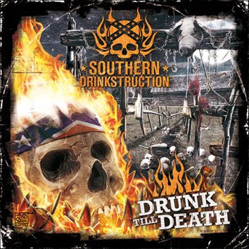 Southern Drinkstruction- Drink Till Death CD on Despise The Sun