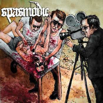 Spasmodic- Mondo Illustrated CD on Unexploded Rec.