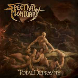 Spectral Mortuary- Total Depravity CD on Deepsend Records