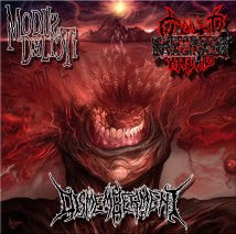 CLITORIDUS INVAGINATUS / MODUS DELICTI / DISMEMBERMENT- Split CD