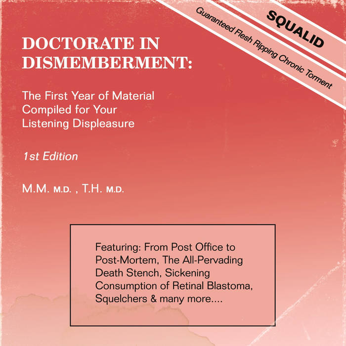 Squalid- Doctorate In Dismemberment CD on Terrible Mutilation Rec.