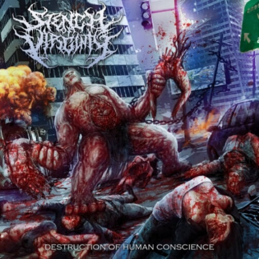Stench Of Virginity (INDO)- Destruction Of Human Conscience CD on Enslave Rec.