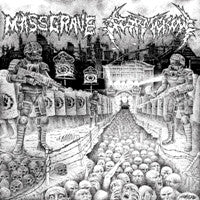 Stormcrow / Mass Grave- Split CD on Selfmadegod Rec.