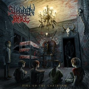 SUDDEN RAGE- Fire Up The Chainsaw CD on Sevared Records