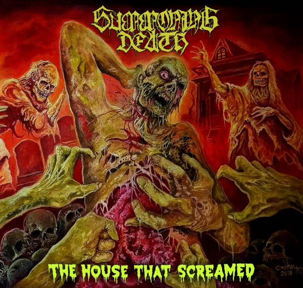 Summoning Death- The House That Screamed CD on Chaos Rec.