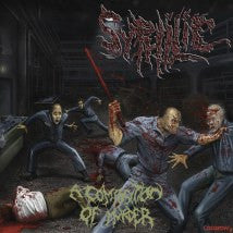 SYPHILIC- A Composition Of Murder CD on Sevared Records