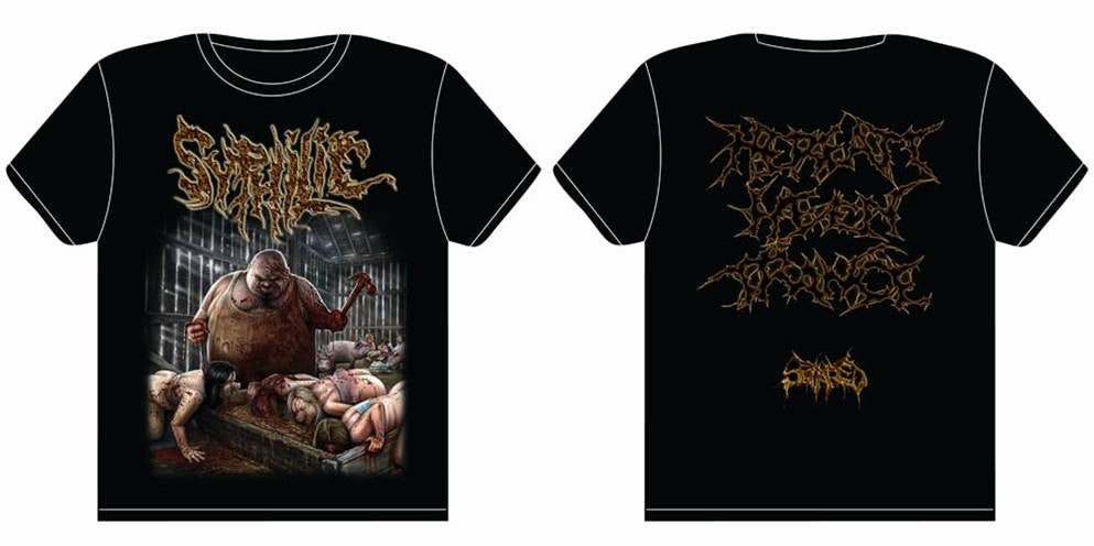 SYPHILIC- Hereatt Henn Trance T-SHIRT S-XL OUT NOW!!!