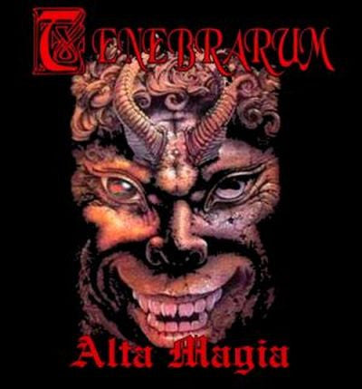 Tenebrarum- Alta Magia CD on American Line Prod.