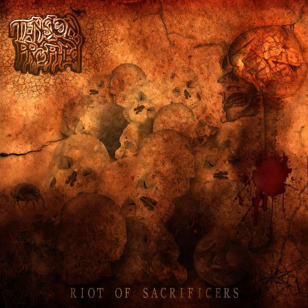 Tension Prophecy- Riot Of Sacrificers CD On Coyote Records