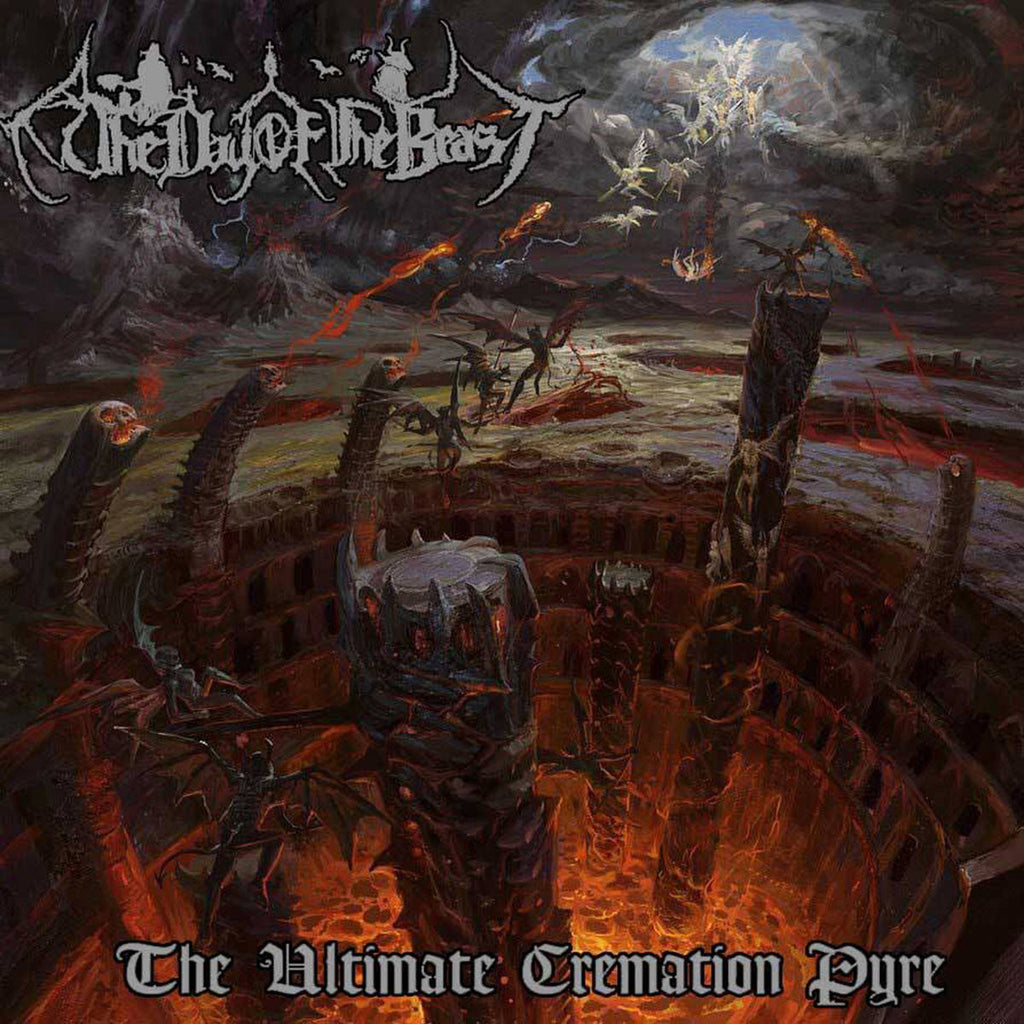 The Day Of The Beast- The Ultimate Cremation Pyre CD on Lost Apparitions Rec.