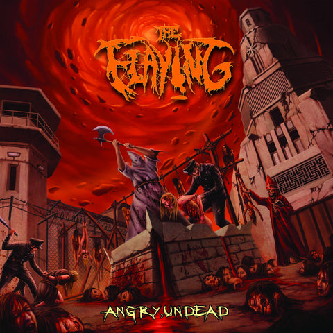 The Flaying- Angry Undead CD on PRC Music