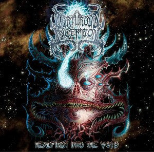 Torturous Inception- Headfirst Into The Void CD on Amputated Vein Rec.