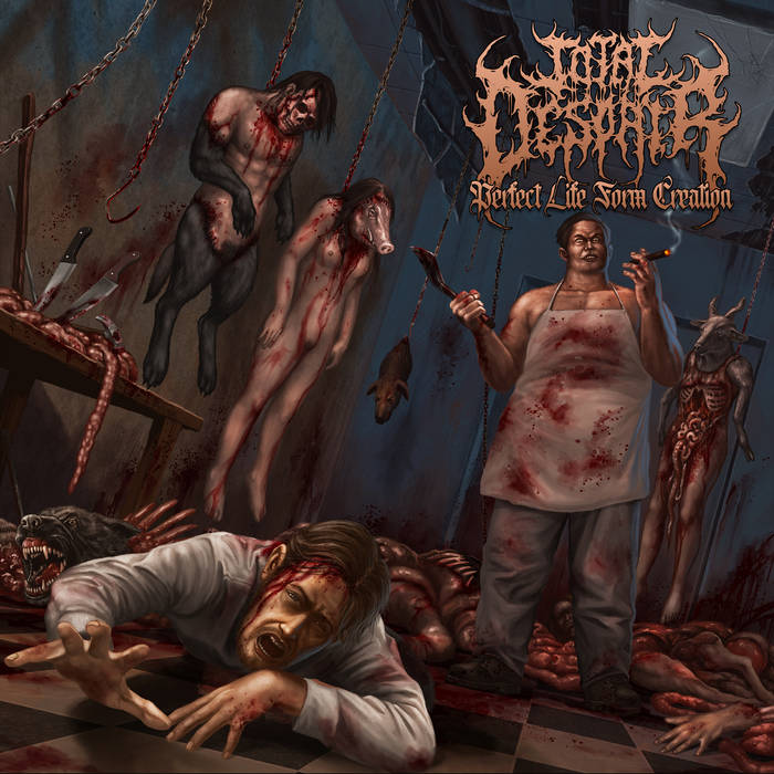 Total Despair- Perfect Life Form Creation CD on Ungodly Ruins Prod.