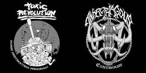 Androphagous / Toxic Revolution- Split CD on FDA Rekotz Rec.