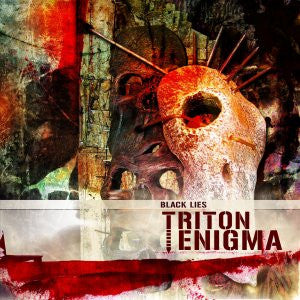 Triton Enigma- Black Lies CD on Open Grave Rec.