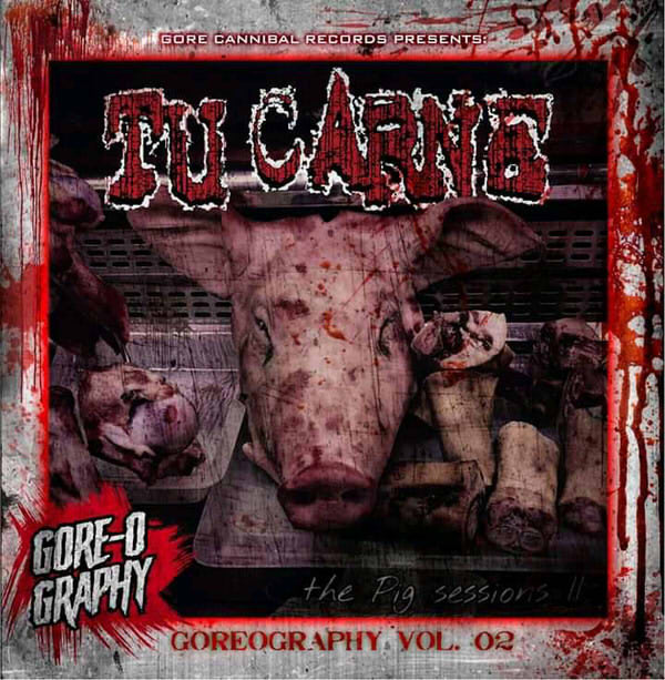 Tu Carne- Goreography Vol. 2 CD on Gore Cannibal Rec.