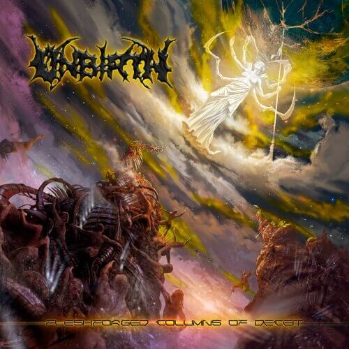 Unbirth- Fleshforged Columns Of Deceit CD on New Standard Elite