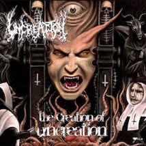 UNCREATION (SPA)- The Creation Of Uncreation CD on Sevared Rec.