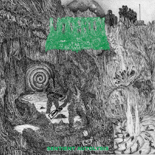 UNDEATH- Sentient Autolysis CD on Sevared Rec.