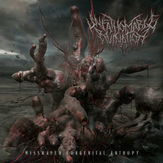 UNFATHOMABLE RUINATION- Misshapen Congenital Entropy CD on Sevared Rec. Out Now!!