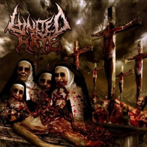 United By H*te- Indulgence In Sacrilege CD on Dark Harvest Rec.