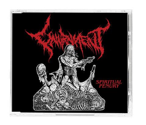UNURNMENT- Spiritual Penury Maxi CD on Maggot Stomp / Sevared Records