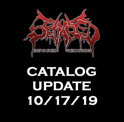 UPDATE 10/17/19 NEW ARRIVALS LISTED HERE!!!