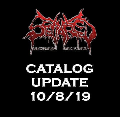 UPDATE 10/8/19 NEW ARRIVALS LISTED HERE!!!