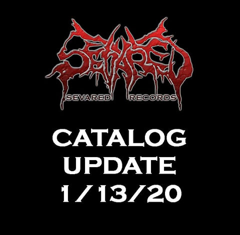 CATALOG UPDATE 1/13/20 New Arrivals Listed Here!!!