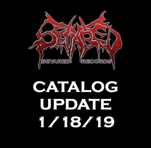 UPDATE 1/18/19 NEW ARRIVALS LISTED HERE!!!