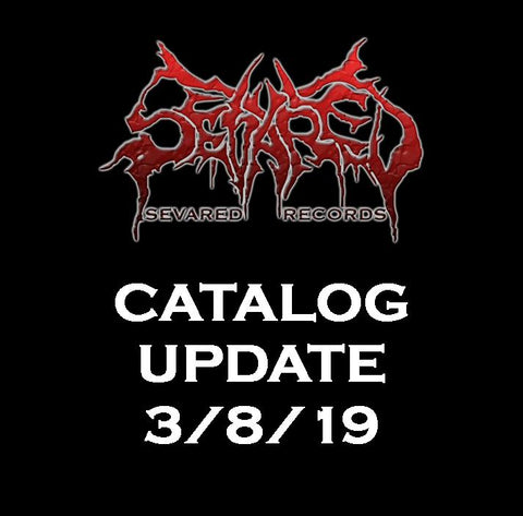 UPDATE 3/8/19 NEW ARRIVALS LISTED HERE!!!