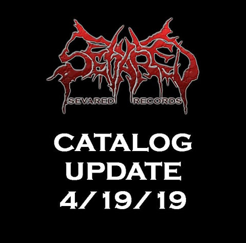 UPDATE 4/19/19 NEW ARRIVALS LISTED HERE!!!