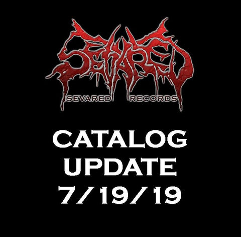UPDATE 7/19/19 NEW ARRIVALS LISTED HERE!!!