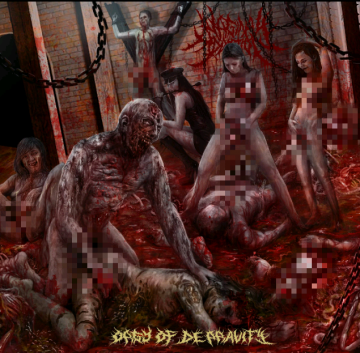 Vaginal Addiction- Orgy Of Depravity CD on CDN Rec.